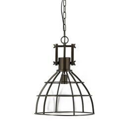 Industriële zwarte hanglamp