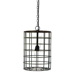 Zwarte hanglamp draad