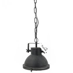 Zwarte Industriële hanglamp Ø 22cm