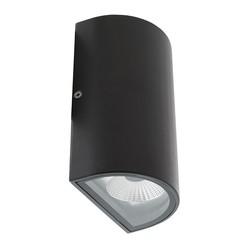 LED Wandlamp zwart voor Buiten