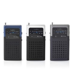 FM-radio 1,5 W Zakformaat
