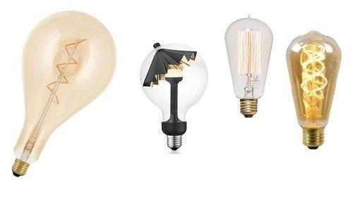 Bijzondere Led lampen met warme kleuren