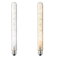 Dimbare led lamp Totem  amberkleur 5W ↕ 30 cm