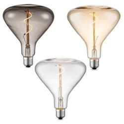 Grote vintage led lamp E27 3 Watt  Dimbaar