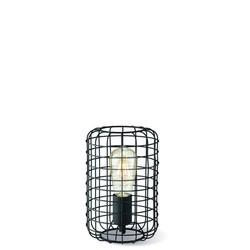 Zwarte draadlamp tafellamp Netting 16