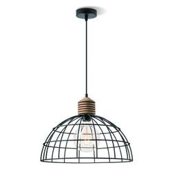 Industriële hanglamp zwart Ø 40 cm