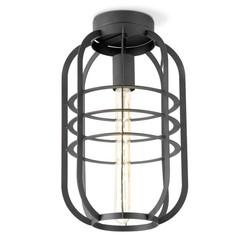 Draadlamp | kooilamp serie Nero 40 plafondlamp