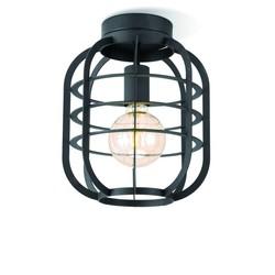 Draadlamp | kooilamp serie Nero 25 plafondlamp