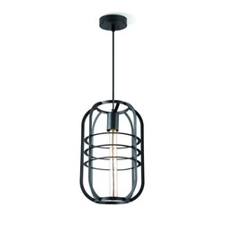 Draadlamp | kooilamp serie Nero 40 hanglamp