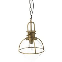 Mooie retro lamp, met een industriële look.