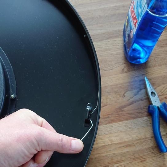 piepende klok repareren