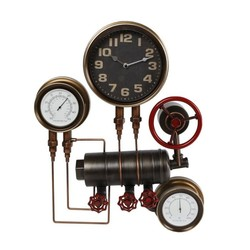 Industriële wandklok machine metaal