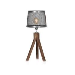 Tafellamp sunburn bruin 62 cm met  ledlamp