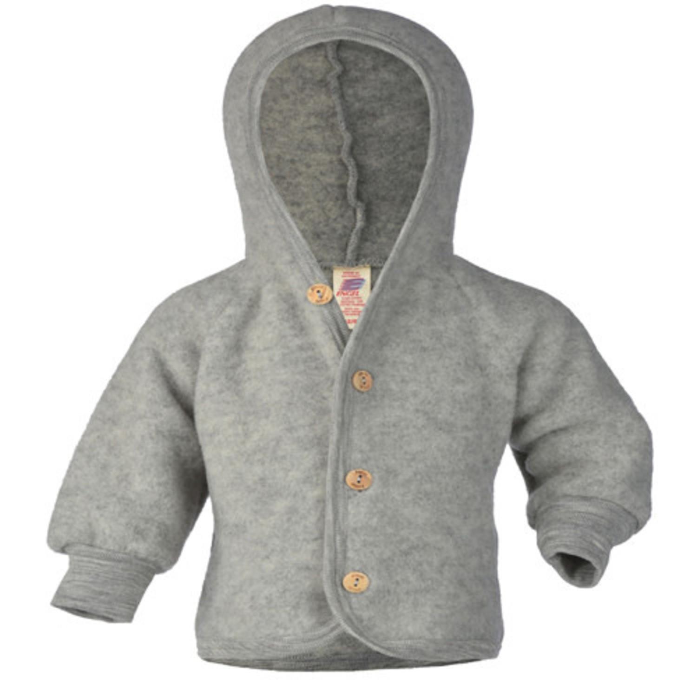 Fleece Jasje Baby.Engel Natur Wollen Jasje Baby Wolfleece Grijs Natur El