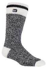 Heat Holders Men's Cream Block Twist Socks