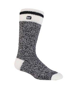 Heat Holders Heat Holders Men's Cream Block Twist Socks