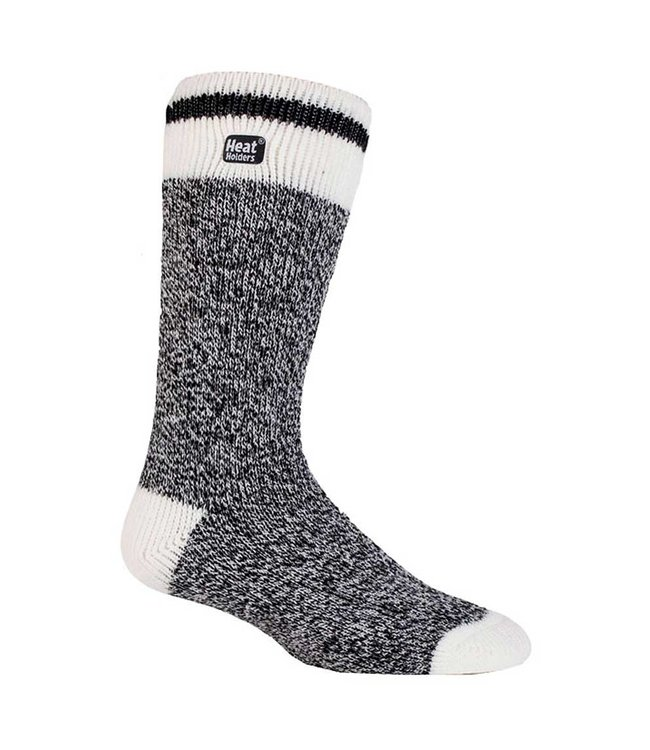 Heat Holders Heat Holders Men's Cream Block Twist Socks