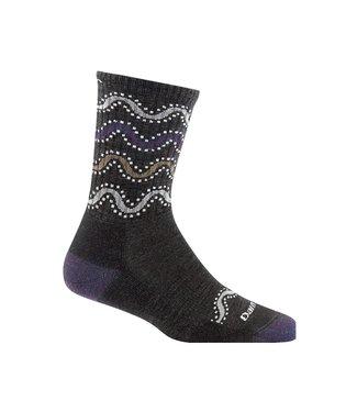 Darn Tough Darn Tough Women's Wandering Stripe Light Cushion Micro-Crew Socks