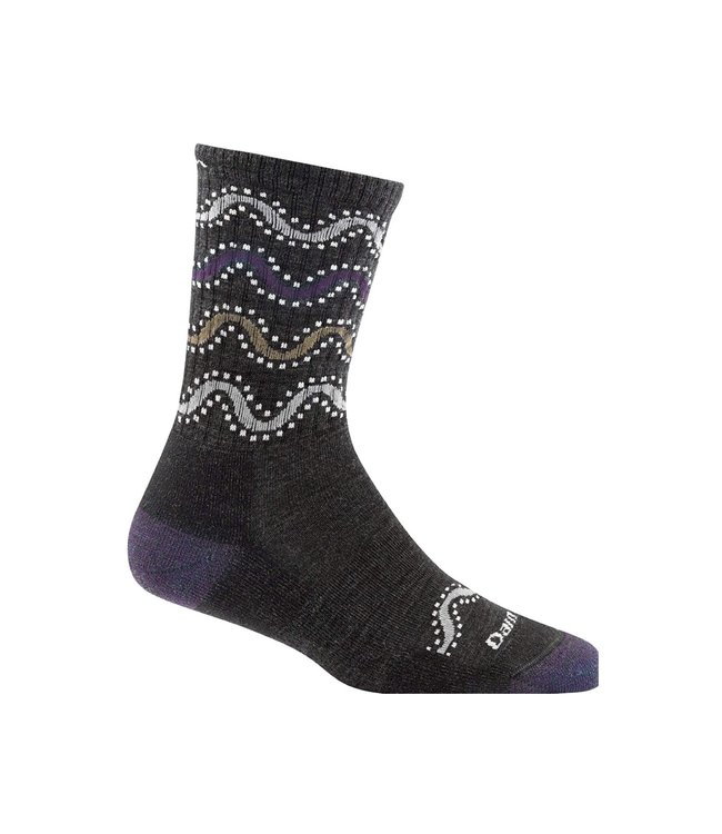 Darn Tough Darn Tough Women's Wandering Stripe Light Cushion Micro-Crew Socks