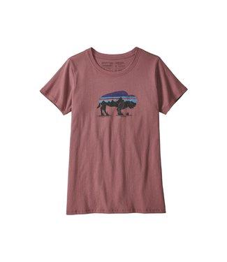 Patagonia Patagonia Women's Fitz Roy Bison Organic Crew T-Shirt