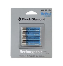 Black Diamond BD AAAA Rechargble Battery 4 Pk