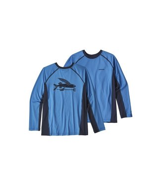 Patagonia Patagonia Boys' Long Sleeve Silk Weight Rashguard