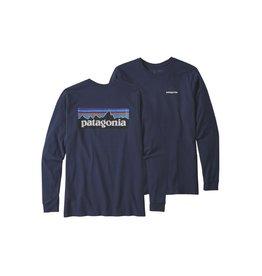 Patagonia Patagonia Men's P-6 Logo Long Sleeve Responsibili-Tee