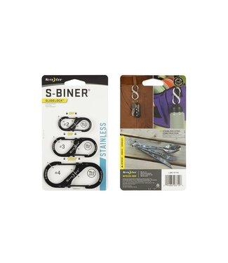 Nite Ize Nite Ize SlideLock S-Biner 3 Pack