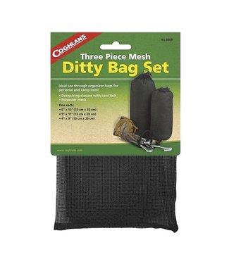 "Coghlan's Coghlan's 3 Piece Mesh Ditty Bag Set (6""x13"", 5""x11"", 4""x9"")"