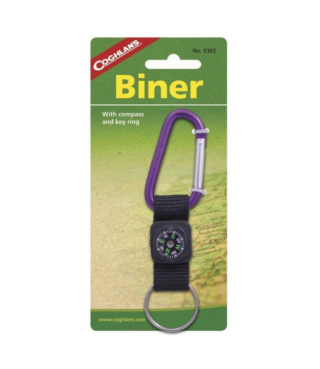 Coghlan's Coghlan's Biner W/Compass & Key Ring