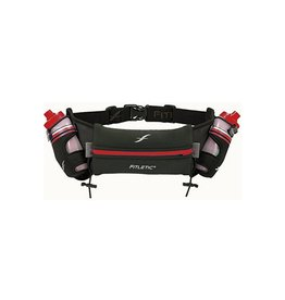 Fitletic HD08 16oz Hydration Belt, Striped Red