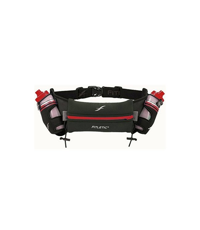 Fitletic Two Hydration Bottles & Neoprene Pouch