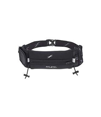 Fitletic Ultimate II Single Neoprene Sport Belt with Additional Side Pocket & Gel Holders