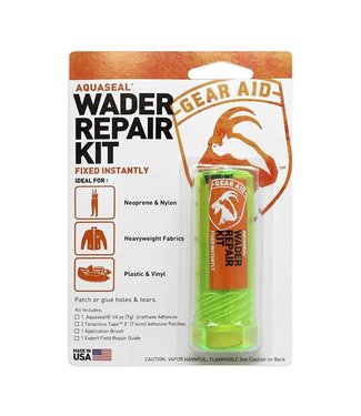 Gear Aid Aquaseal 1/4oz Repair Kit with Patch