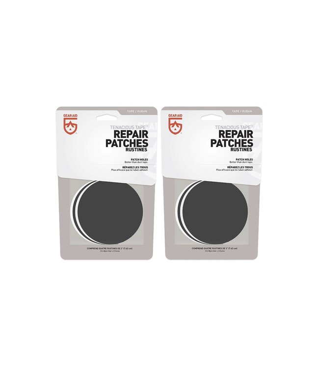 Gear Aid Gear Aid Tenacious Tape Repair Patches 2pcs + 2pcs