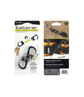 Nite Ize Nite Ize Slidelock 360 Magnetic Locking Dual Carabiner