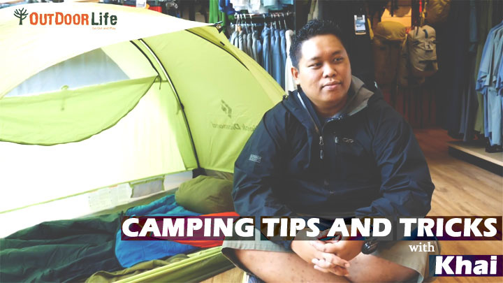 Camping Tips and Tricks  with Khai for beginners