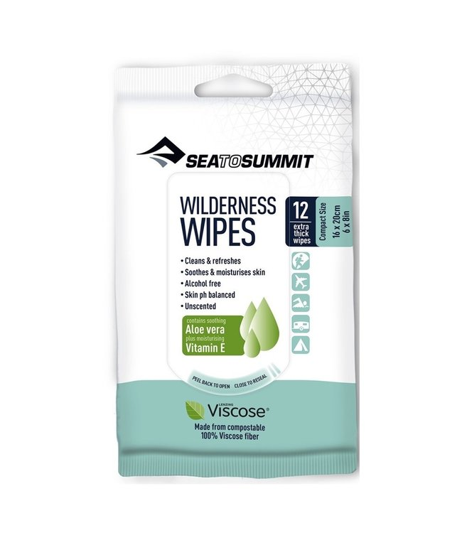Sea To Summit Sea To Summit Wilderness Wipes Compact 12 wipes