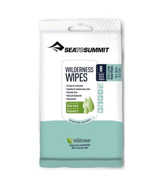Sea To Summit Sea To Summit Wilderness Wipes Extra Large 8 Wipes