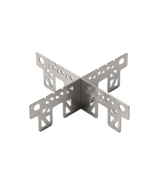 Evernew Evernew Titanium Cross Trivet for AL Stove (Made In Japan)