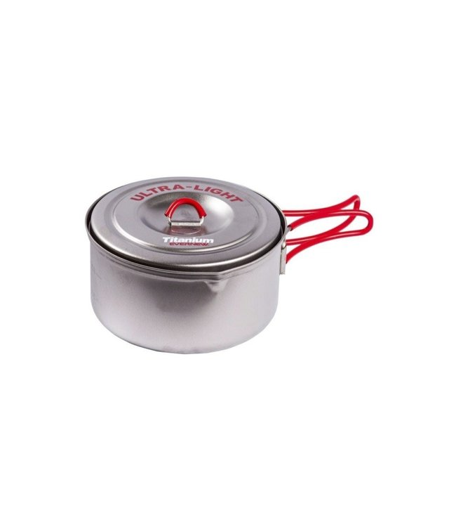 Evernew Evernew Titanium Ultra Light Cooker Pot  0.6L (Made In Japan)