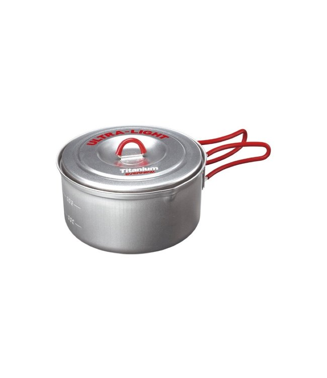 Evernew Evernew Titanium Ultra Light Cooker Pot 0.9L (Made In Japan)