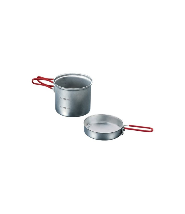 Evernew Evernew Titanium Ultra Light Cooker Set Deep Type (Made In Japan)
