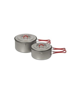 Evernew Evernew Titanium Cooker Set S Ceramic