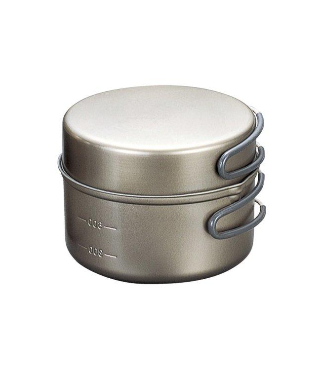 Evernew Evernew Titanium Cooker 2DX Ceramic