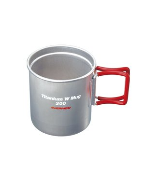 Evernew Evernew Titanium Insulated Mug 300FH