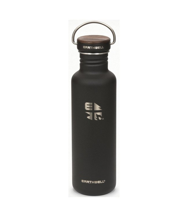 Earthwell Earthwell Bottle 27oz w/Woodie Walnut Cap