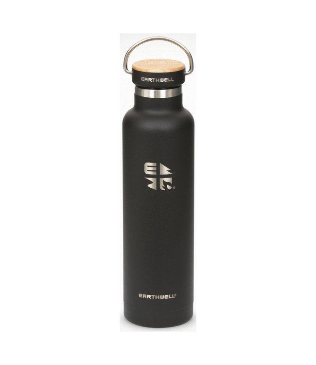 Earthwell Earthwell Vacuum Bottle 22oz w/Woodie Maple Cap