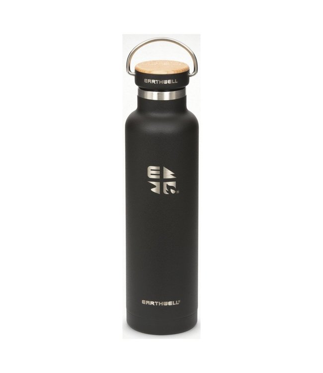 Eearthwell Earthwell Vacuum Bottle 22oz w/Woodie Maple Cap