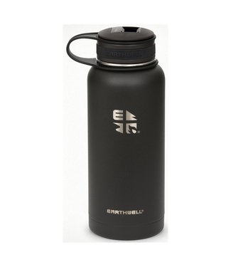Earthwell Earthwell Vacuum Bottle 32oz w/Volcanic Black Kewler Opener Cap